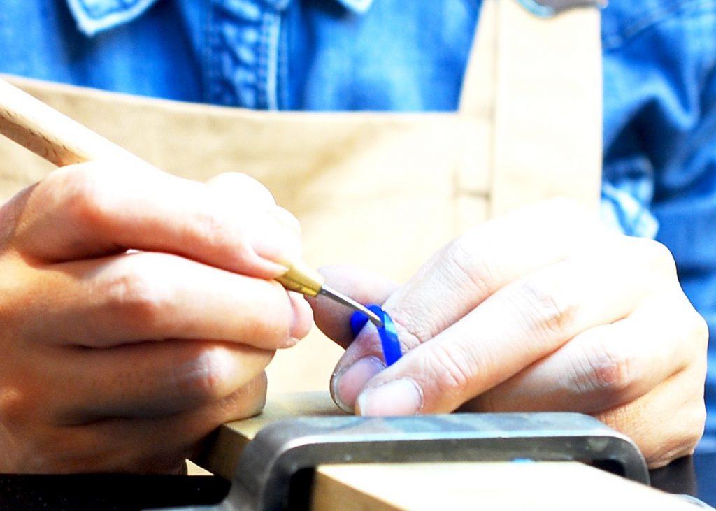 工房スミス 手作り結婚指輪 鋳造 ワックス 北海道 札幌