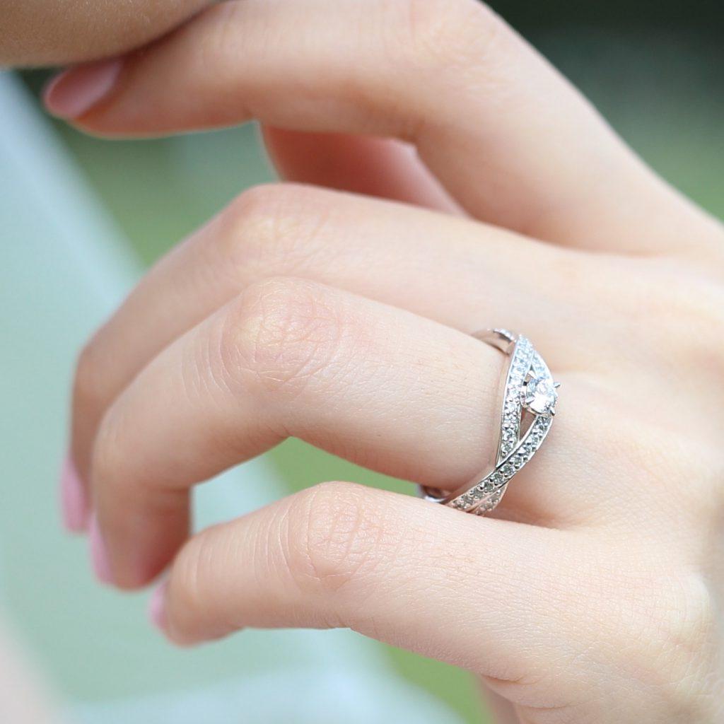 オーダメイドリング 婚約指輪兼用結婚指輪02