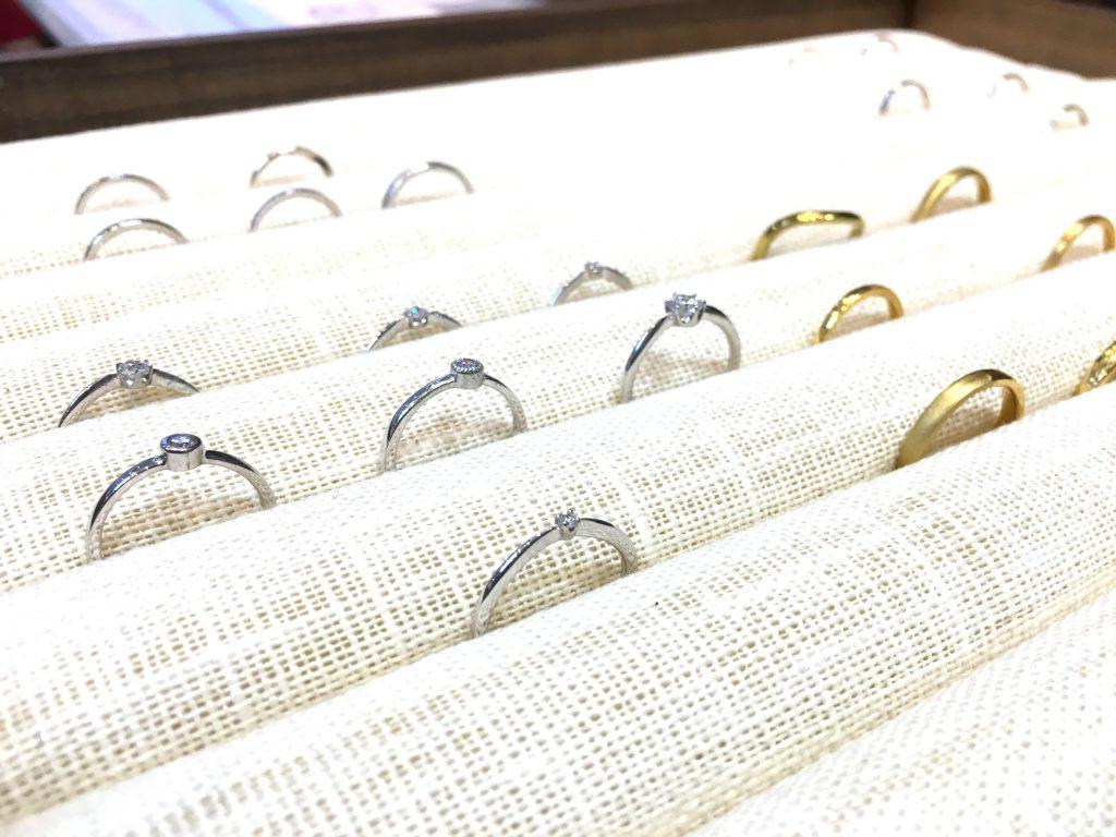 結婚指輪 婚約指輪 手作り結婚指輪 札幌