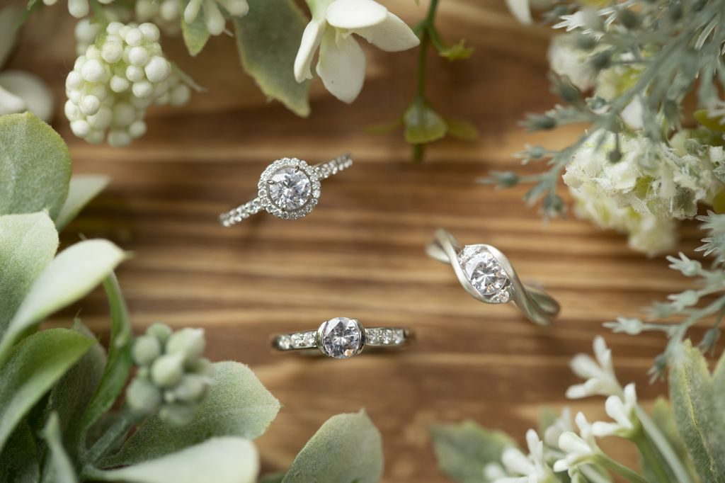 手作り婚約指輪のデザイン