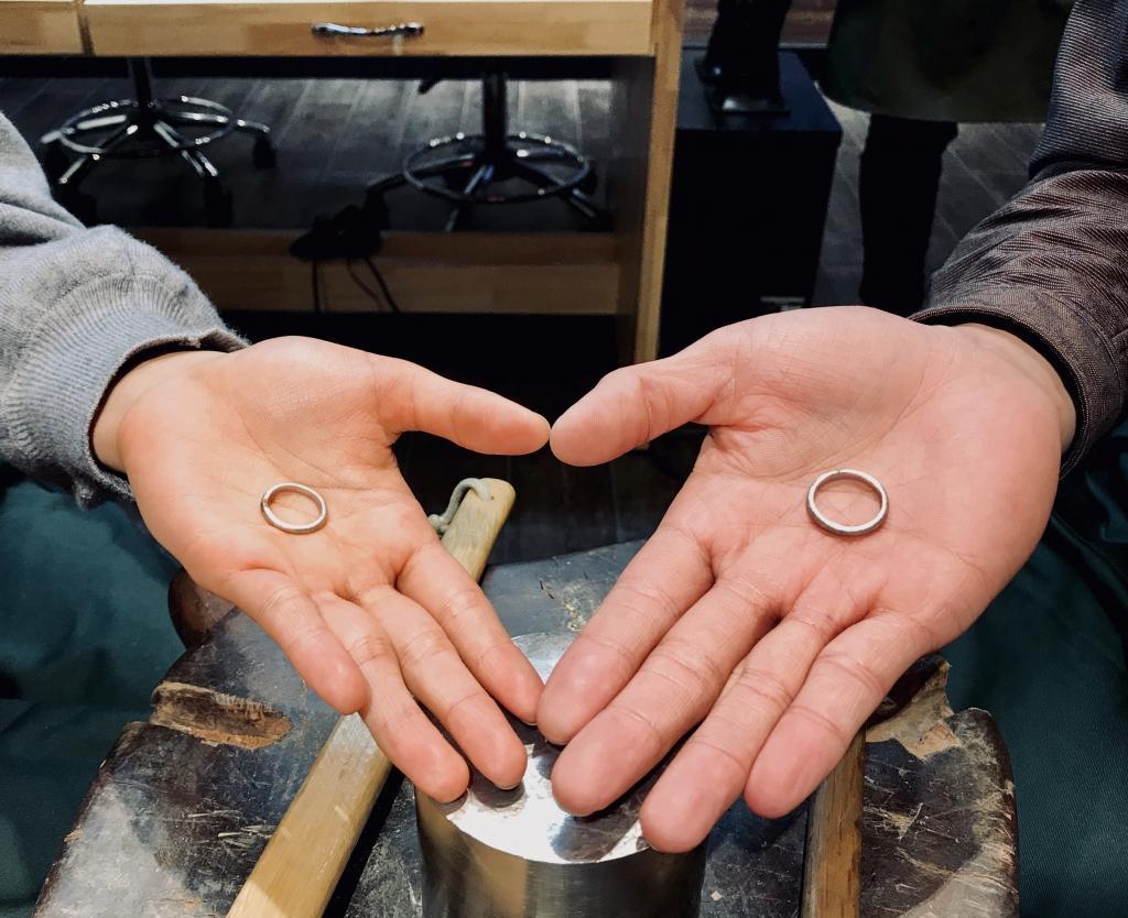 💍手作り結婚指輪 札幌店