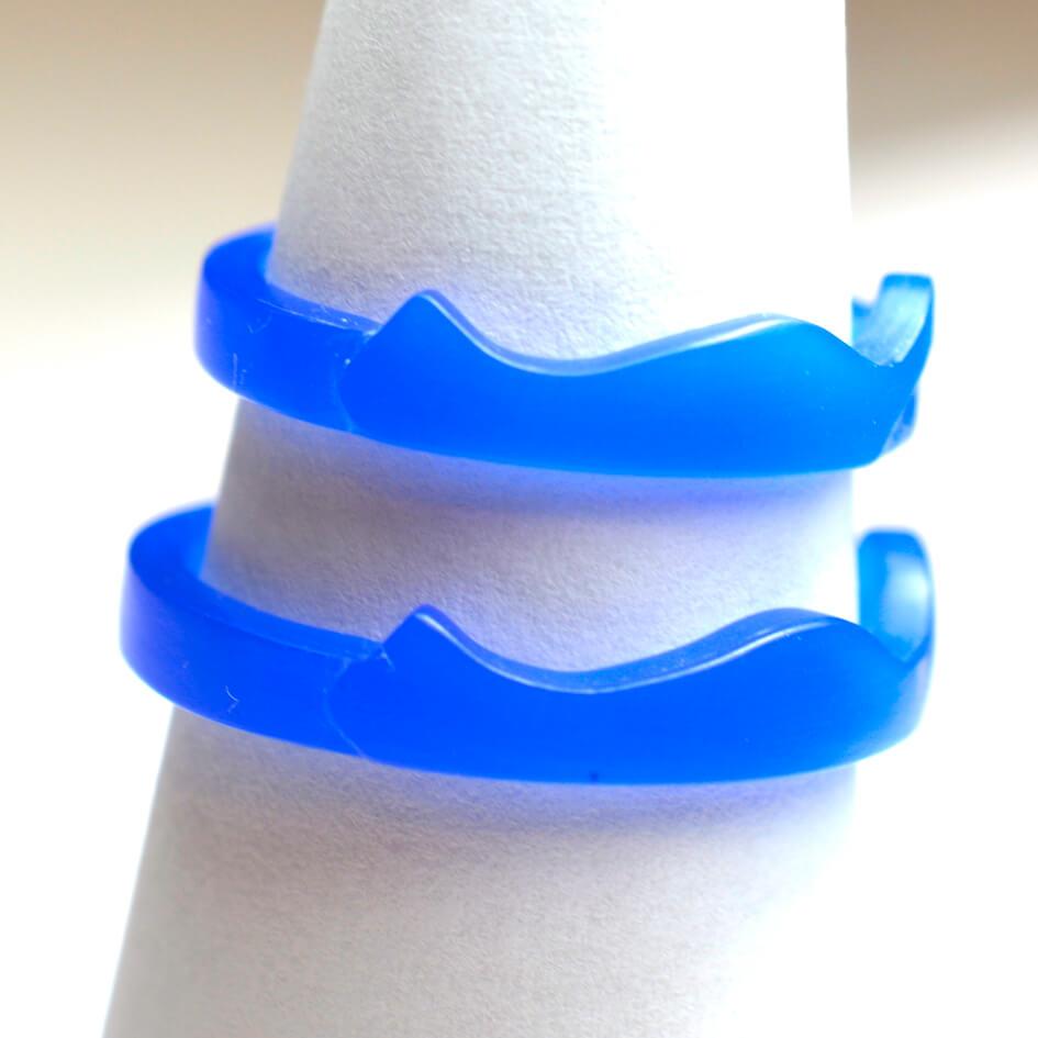 猫モチーフの結婚指輪 シルエット 大人っぽい 手作り指輪 工房スミス