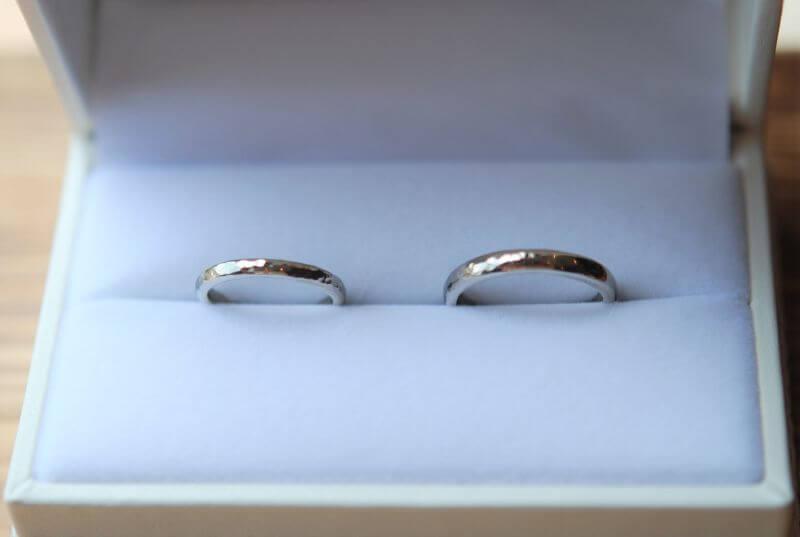 結婚指輪・ハーフ&ハーフ