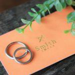 手作り結婚指輪・K18ホワイトゴールド