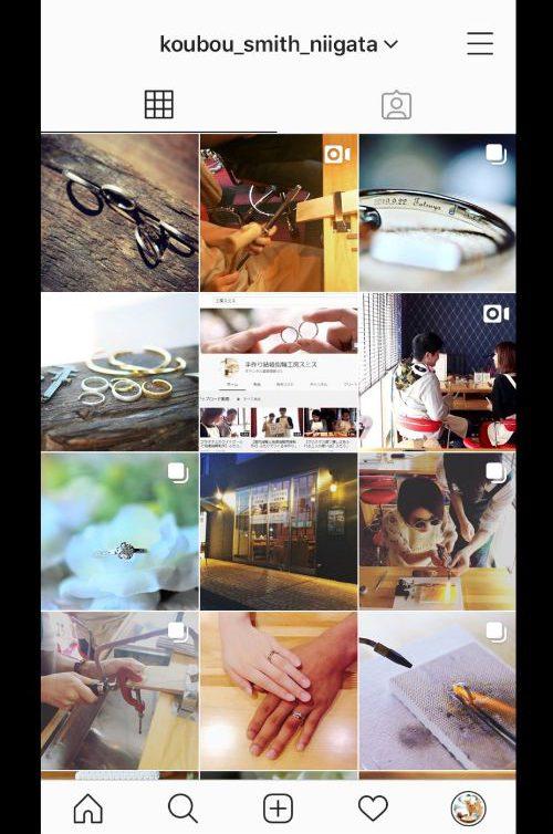 Instagram工房スミス新潟店