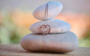 結婚指輪ネックレス