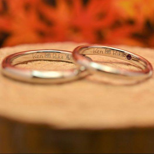 オリジナル刻印・結婚指輪・工房スミス