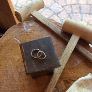彫金工法・結婚指輪・鍛造指輪