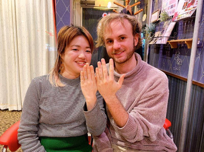 ゴールド・手作り結婚指輪・工房スミス
