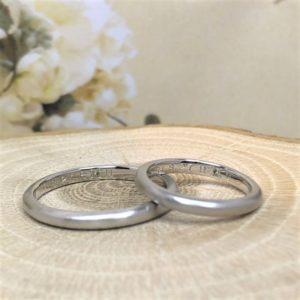 彫金工法・工房スミス・結婚指輪