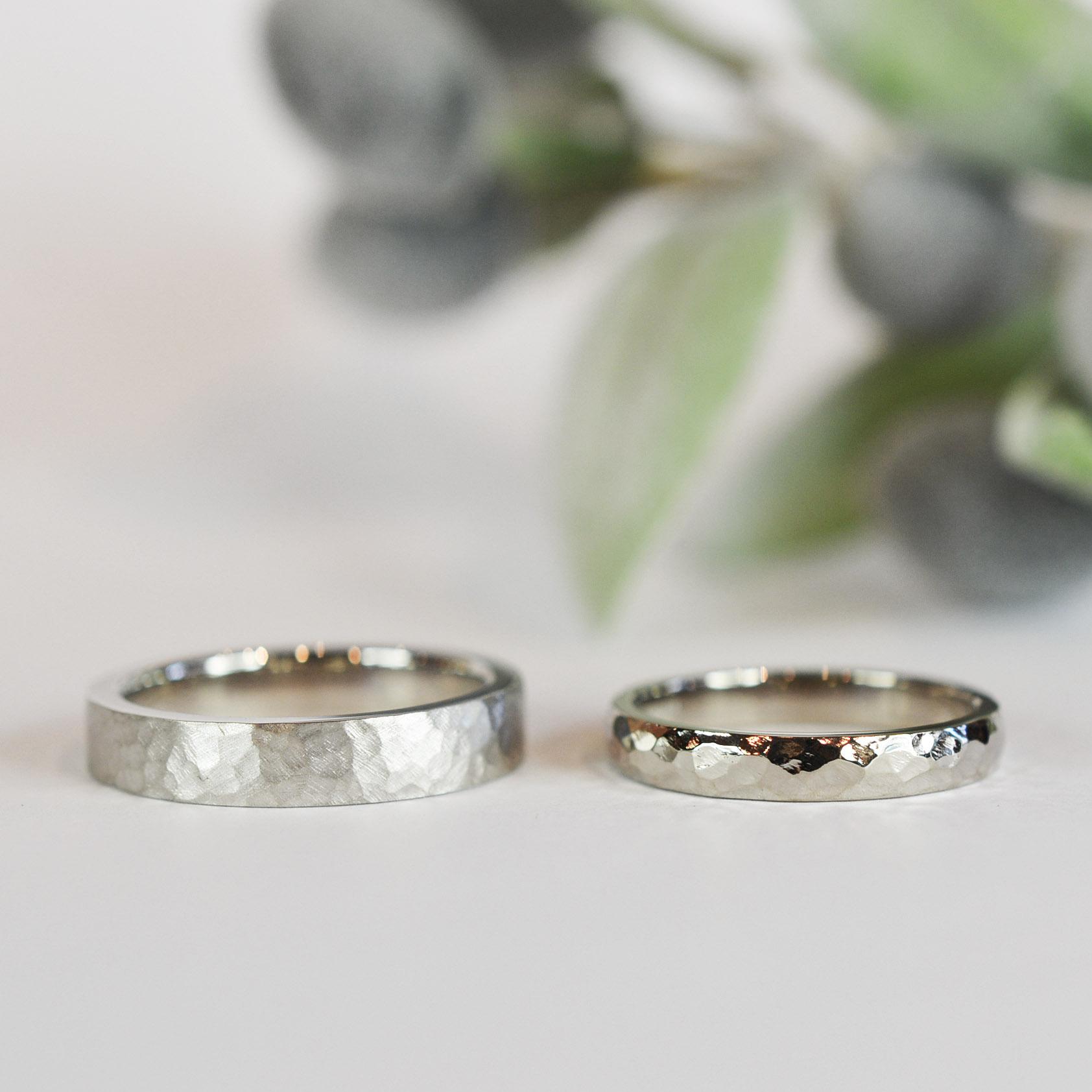 【日帰り手作り結婚指輪】尾股栄治様、三代様