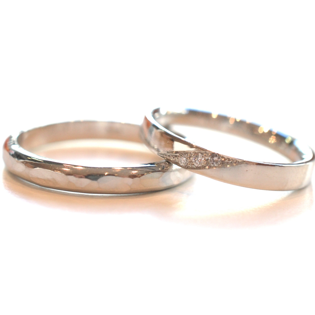 【手作り結婚指輪】服部さまカップル