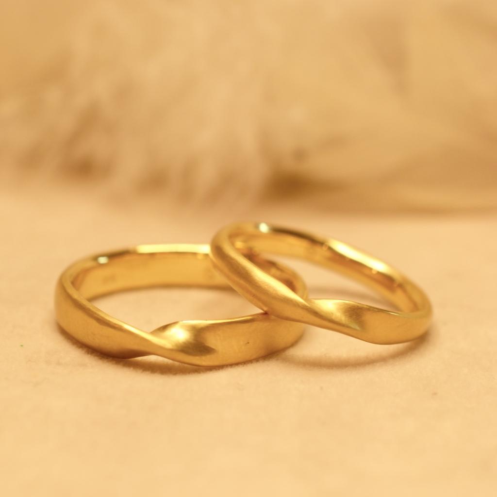 【手作り結婚指輪】日帰りコース 越川豪様、寿津香様