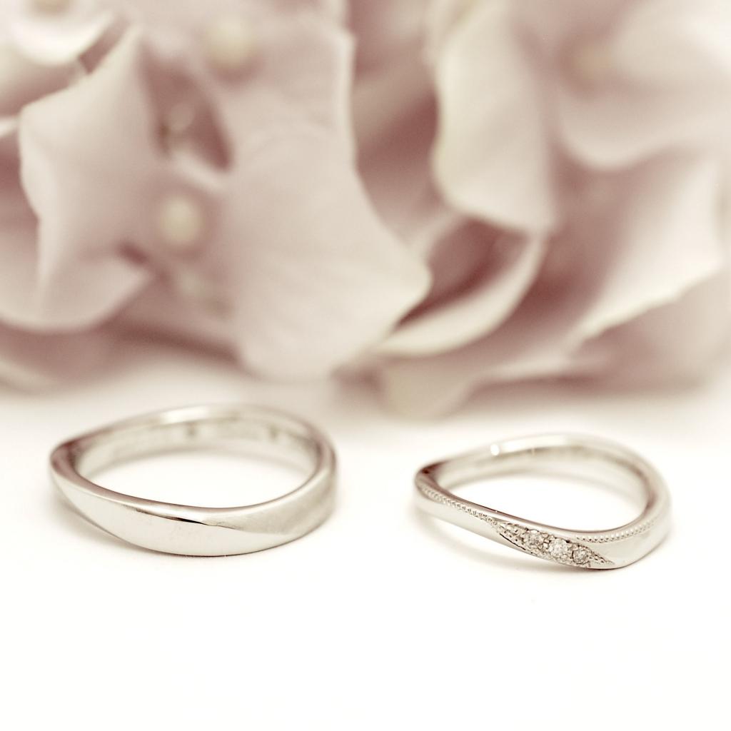 【手作り結婚指輪】大泉様カップル