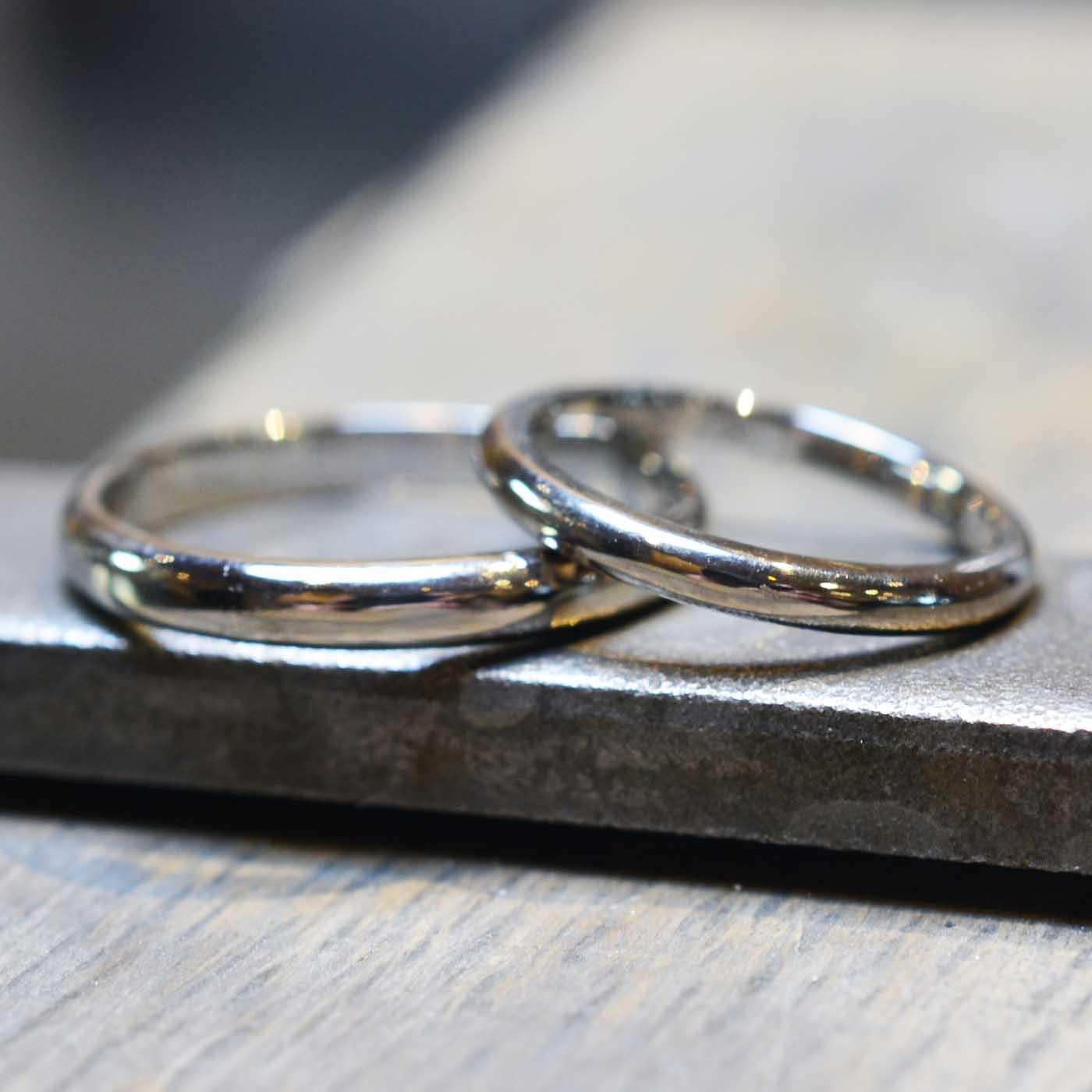 【手作り結婚指輪 プレミアムコース】H様カップル