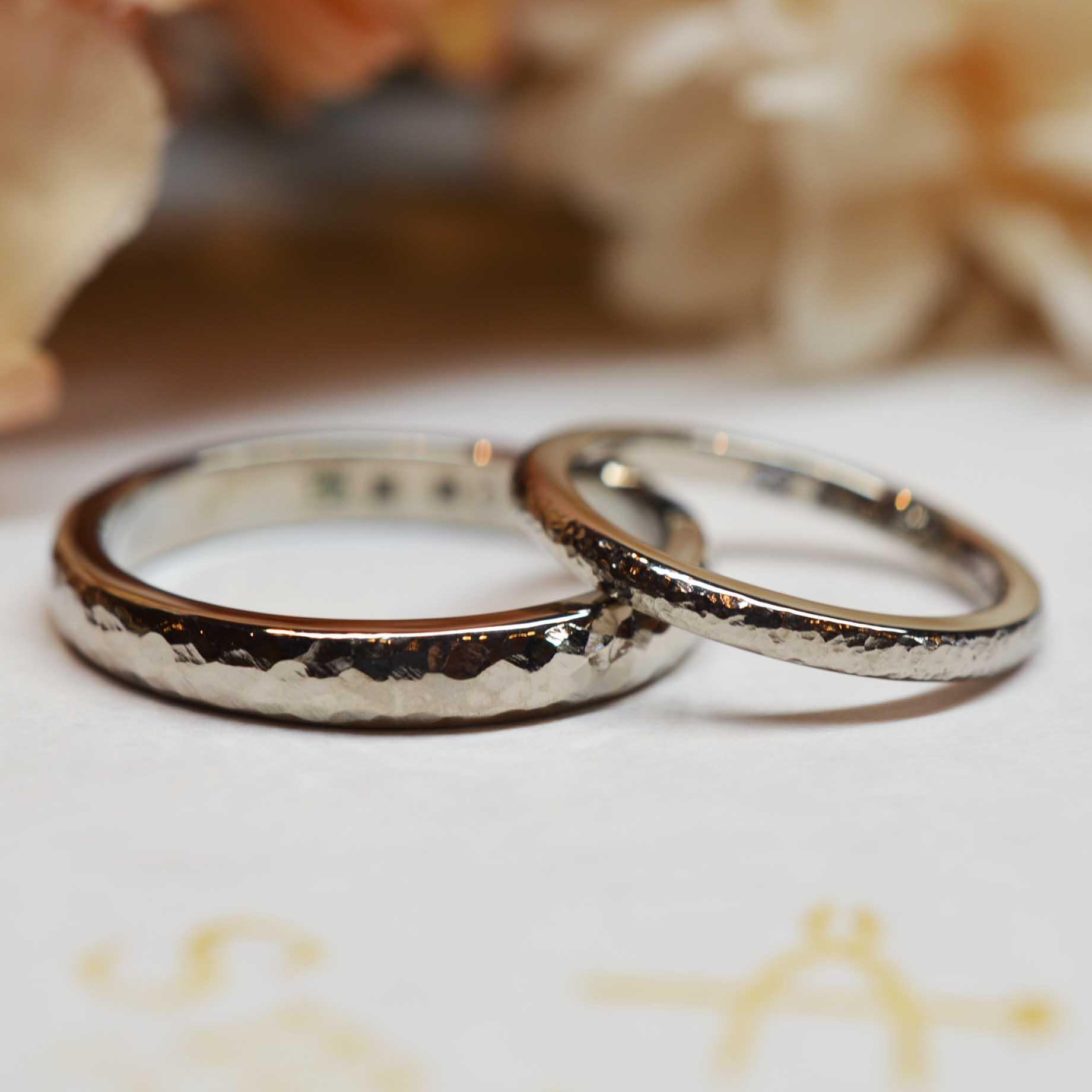 手作り結婚指輪《外苑前店》プレミアムコース