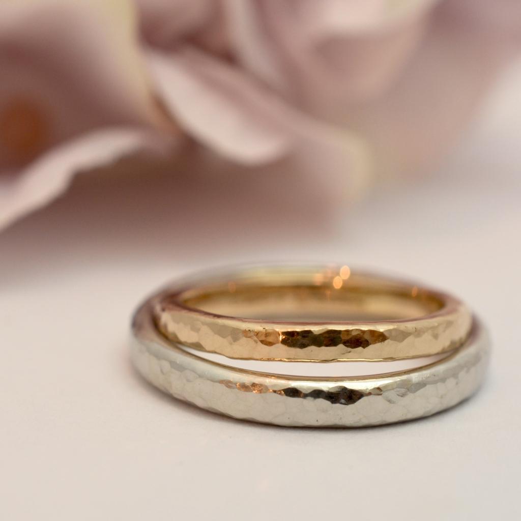 【手作り結婚指輪日帰りコース】魚住様カップル
