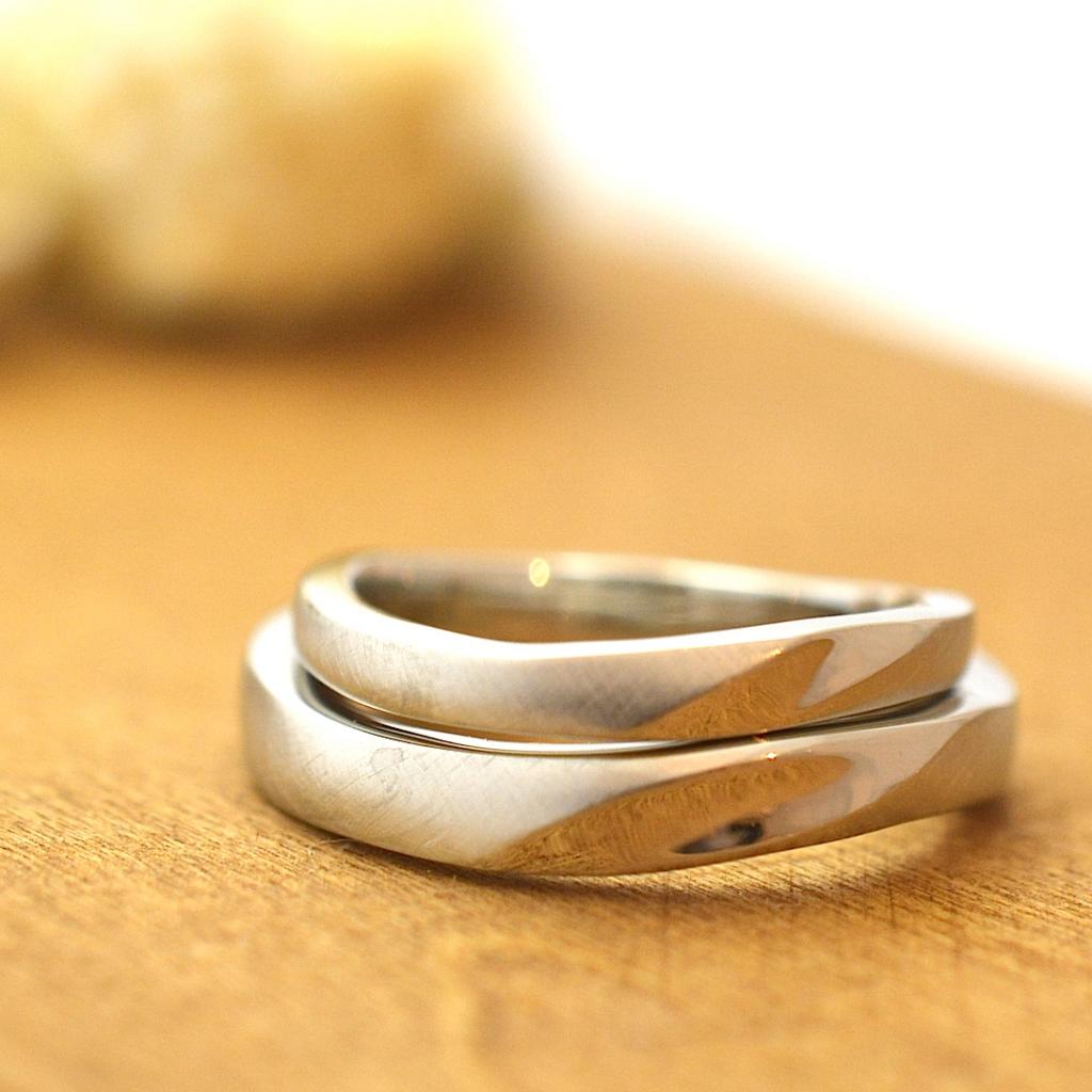 【手作り結婚指輪】プレミアムコース 大原様、二村様カップル