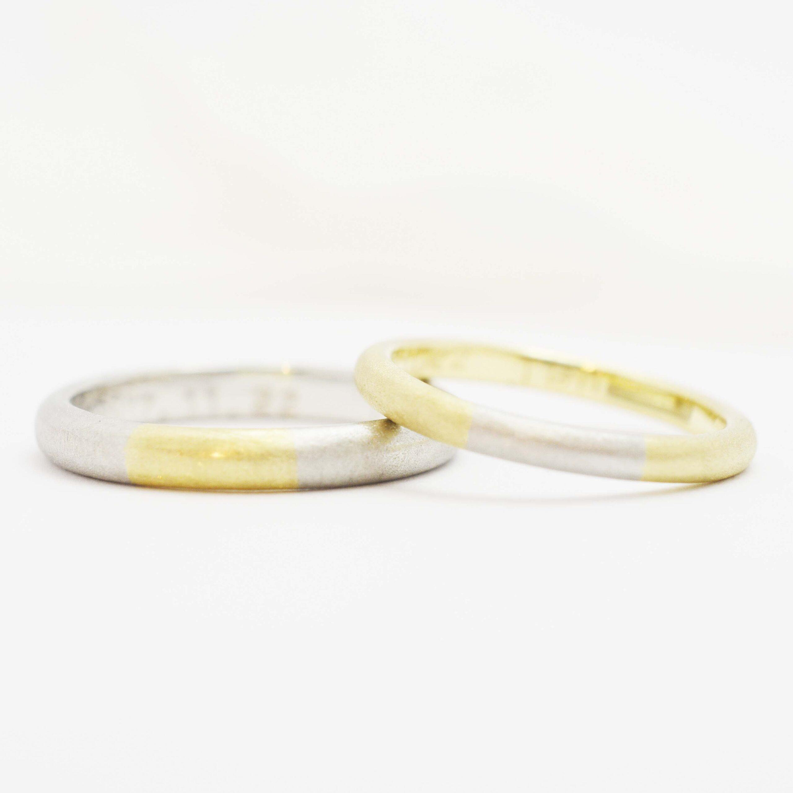 【手作り結婚指輪日帰りコース】岡部様カップル