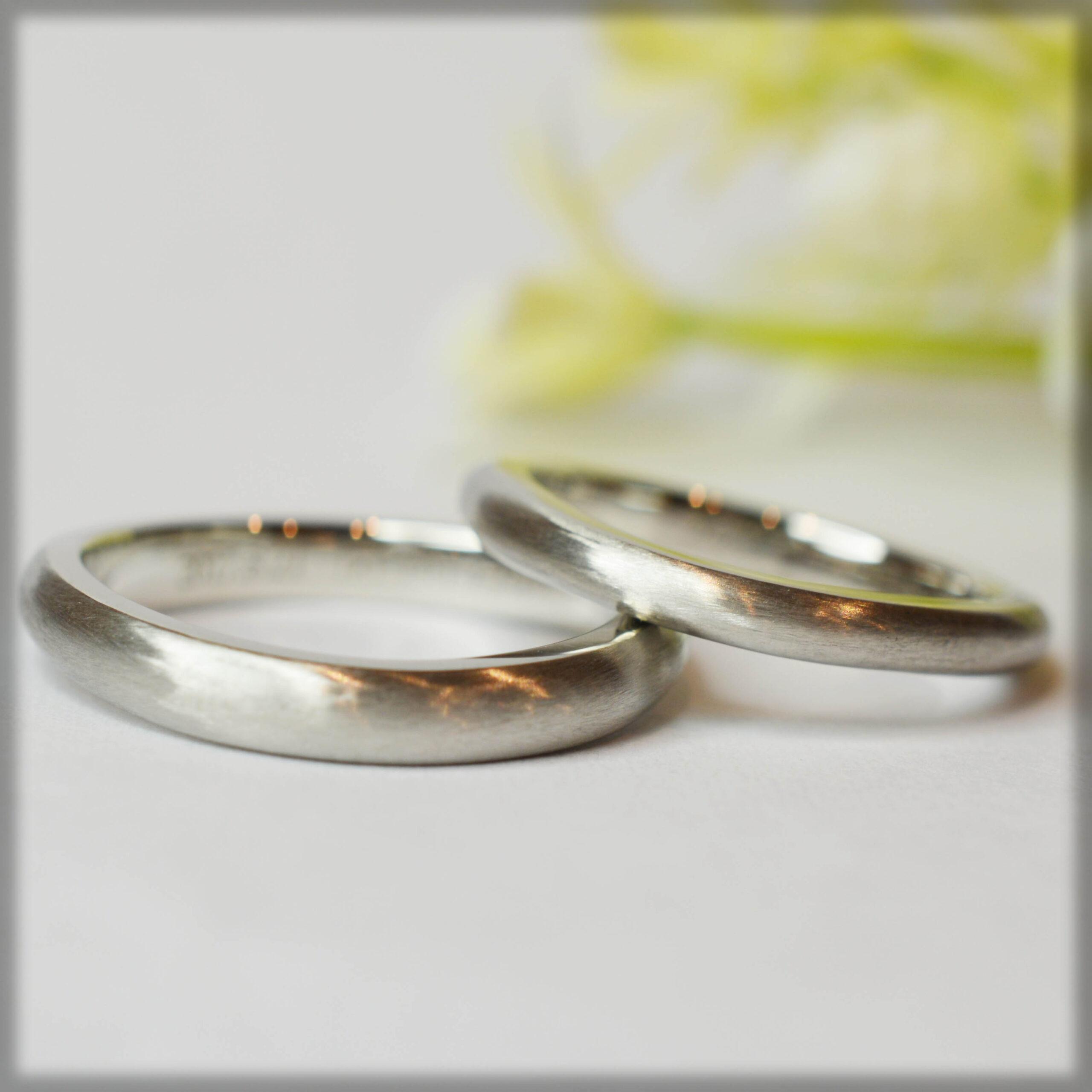 【手作り結婚指輪プレミアムコース】鎌田様