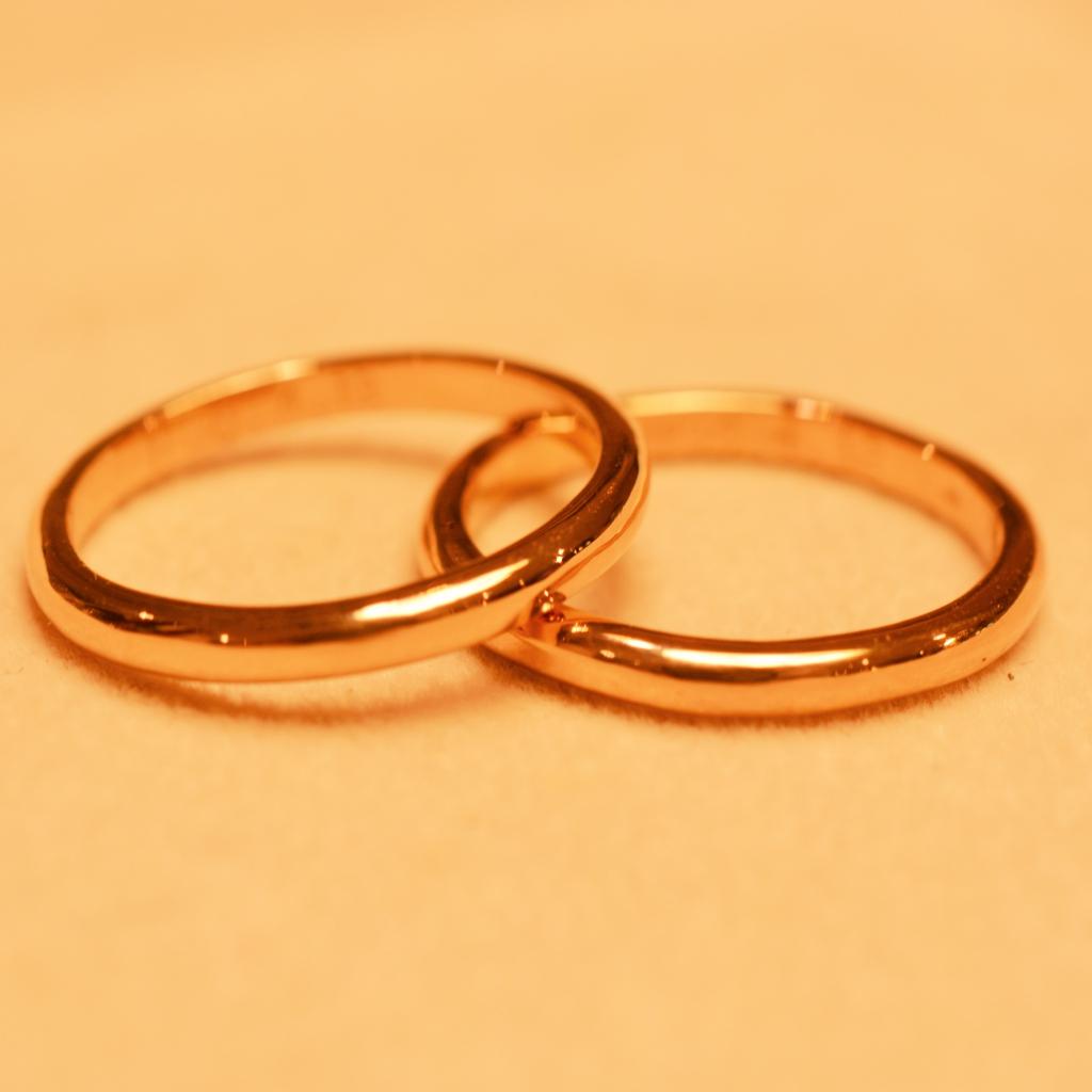 【日帰り手作り結婚指輪】古謝様 西田様