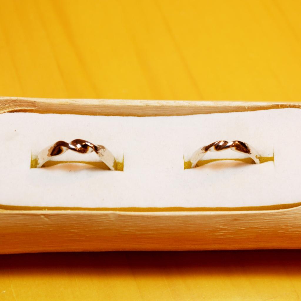 【日帰り手作り結婚指輪】早淵様