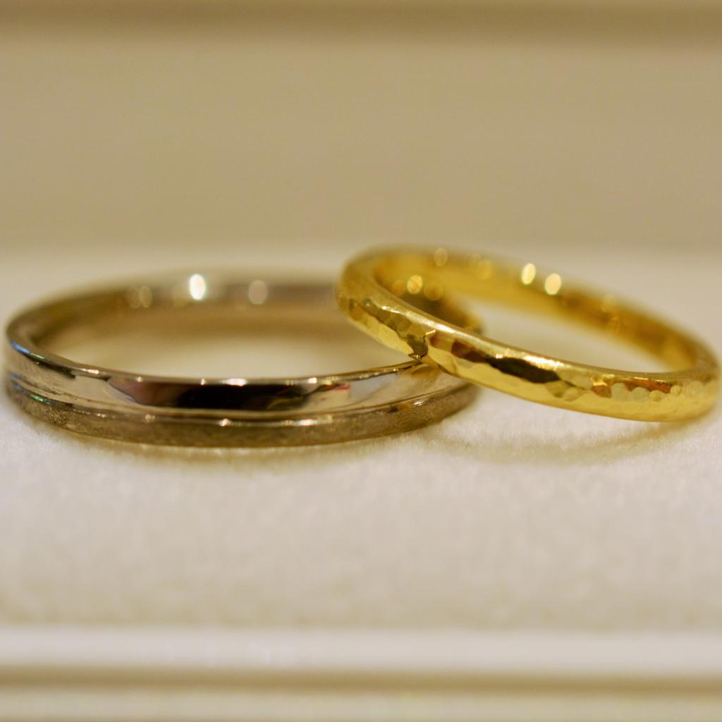 手作り結婚指輪日帰りコース《横浜店》S様