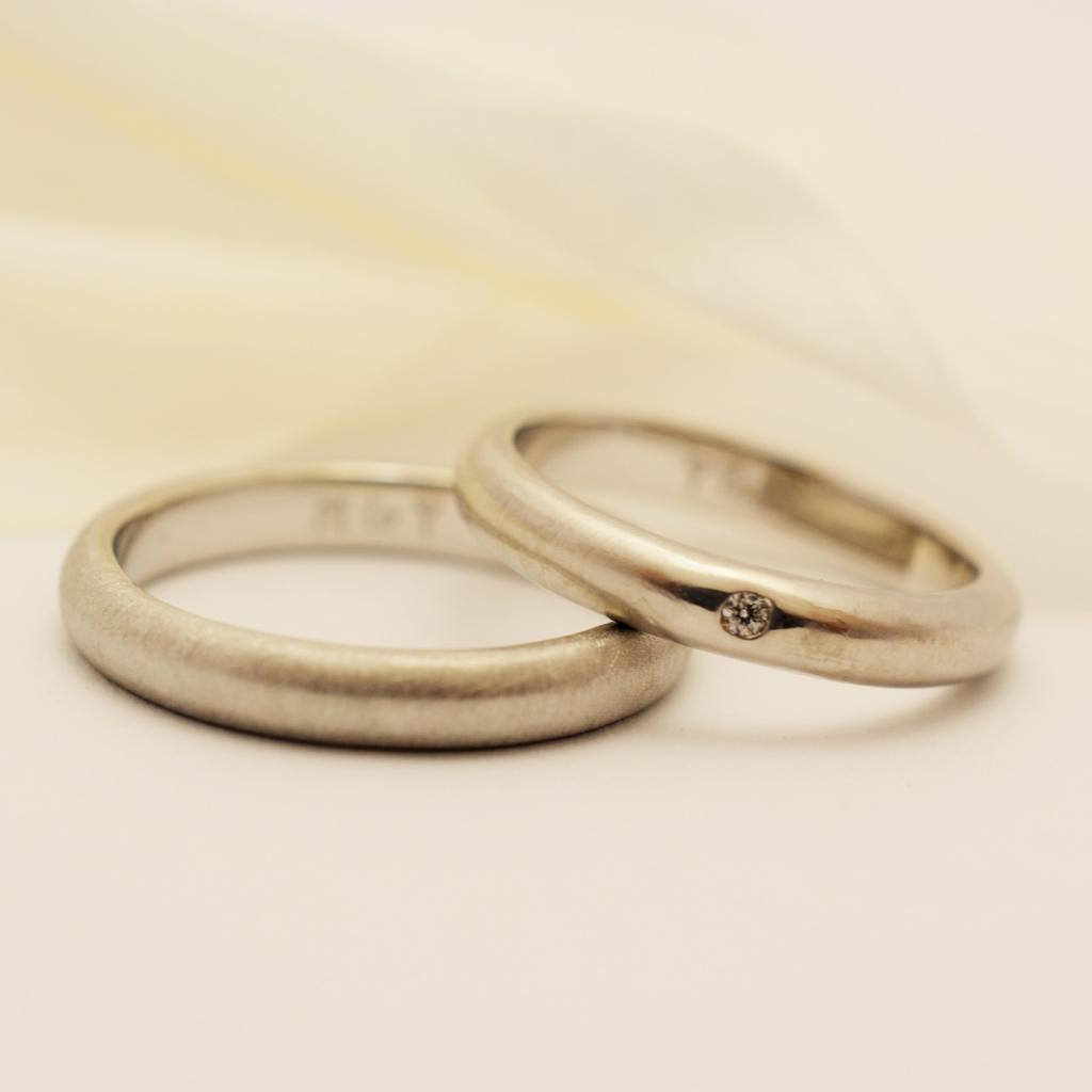 【手作り結婚指輪日帰りコース】神尾様 関根様