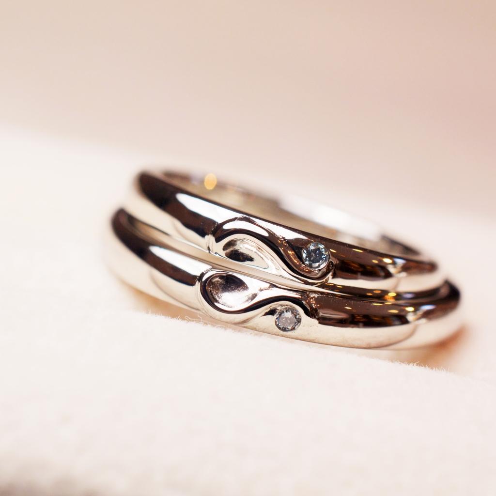 手作り結婚指輪《横浜店》プレミアムコースT様