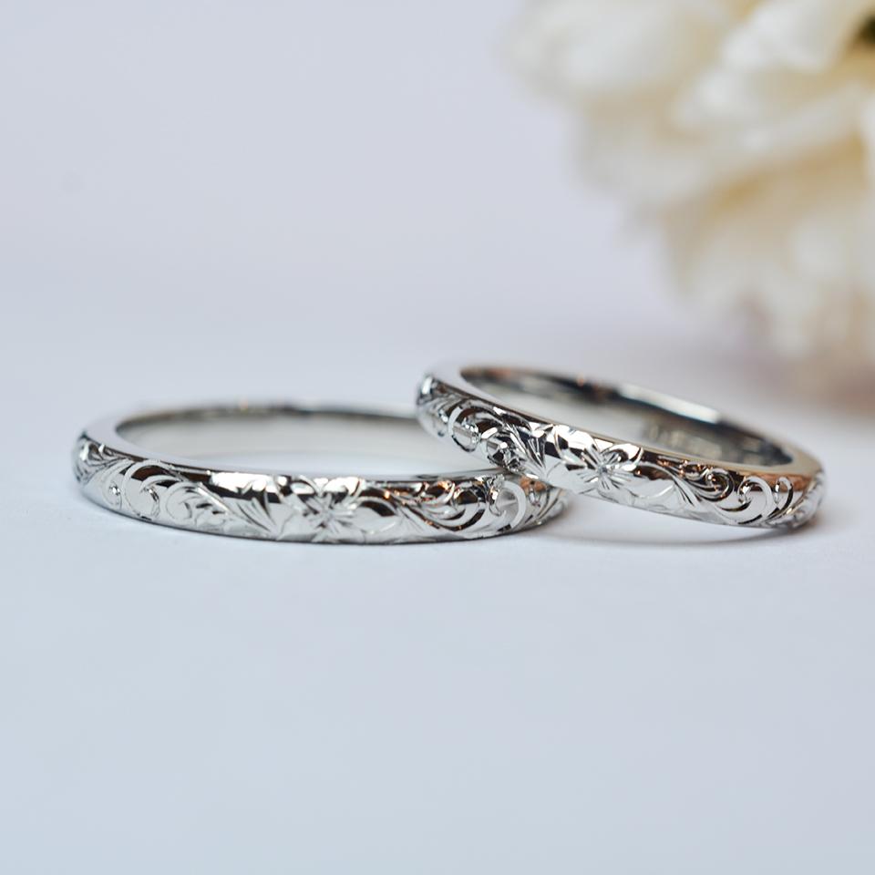 【手作り結婚指輪】 プレミアムコース H様カップル