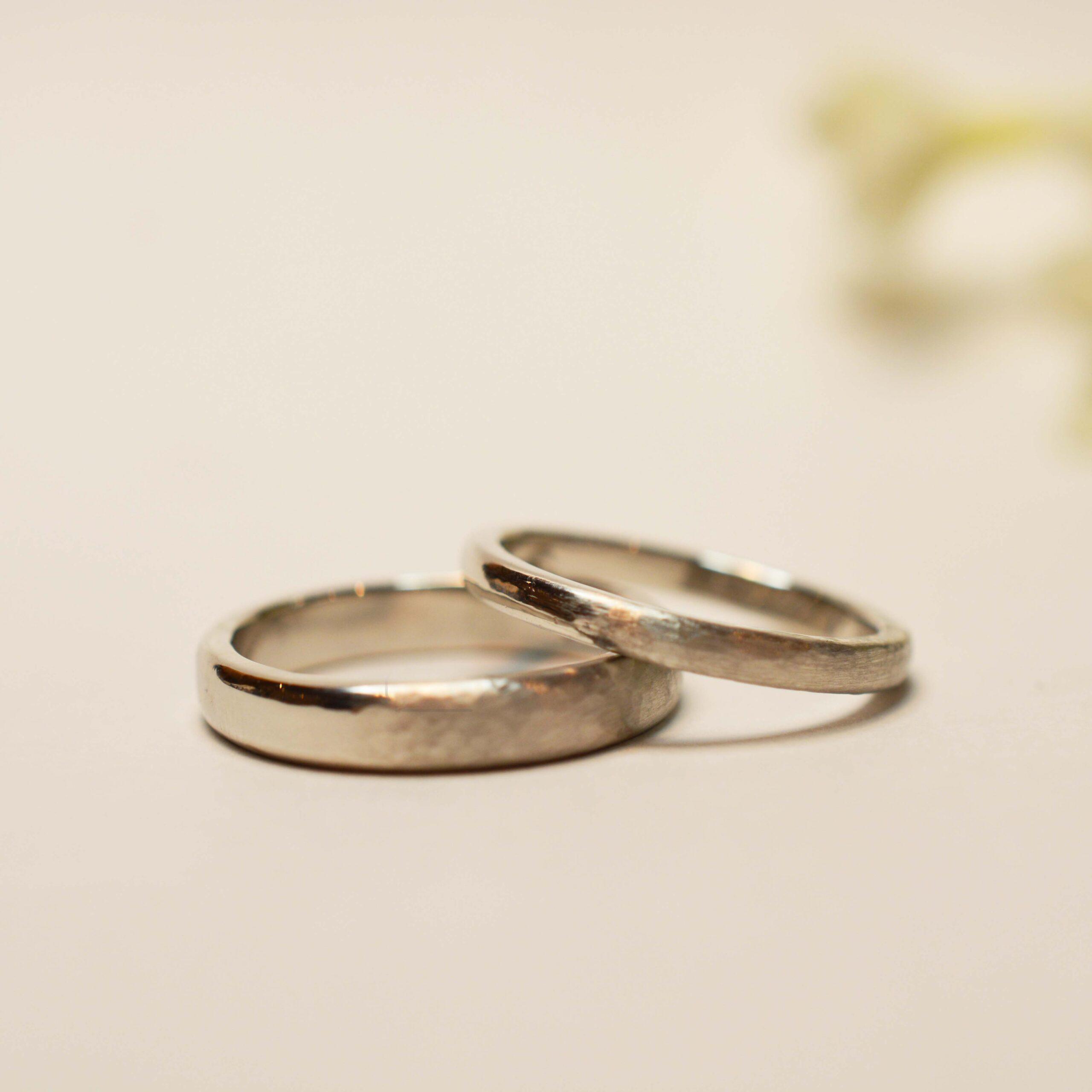 【手作り結婚指輪日帰りコース】中平様カップル