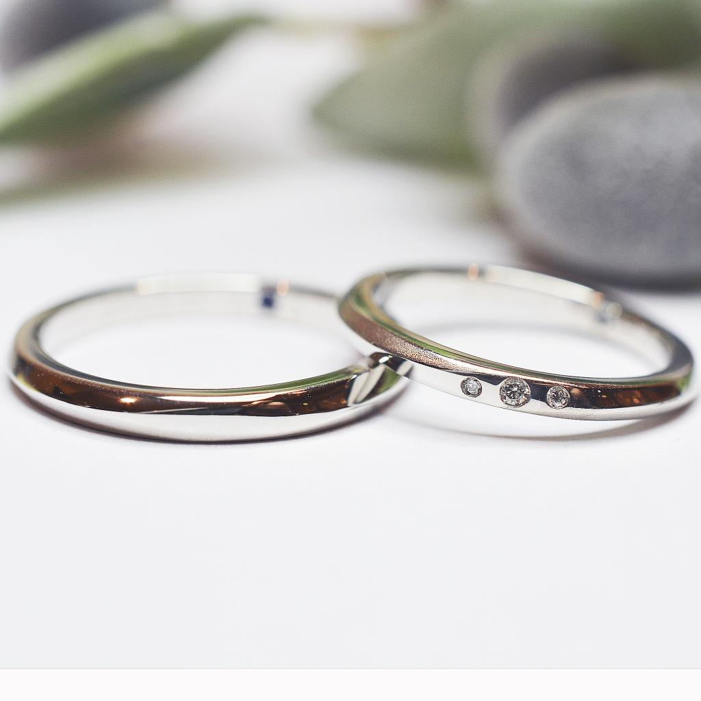 【手作り結婚指輪】藤岡様