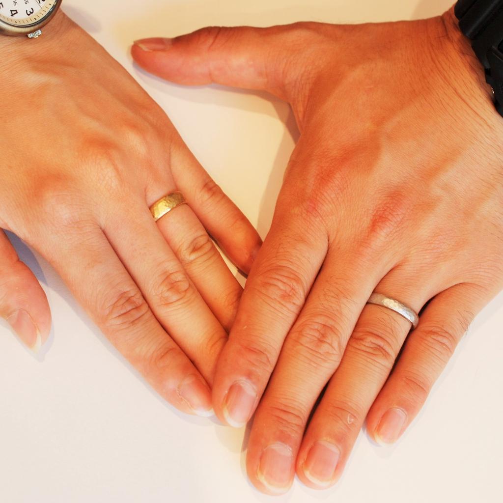 結婚指輪 手作り 似合う色