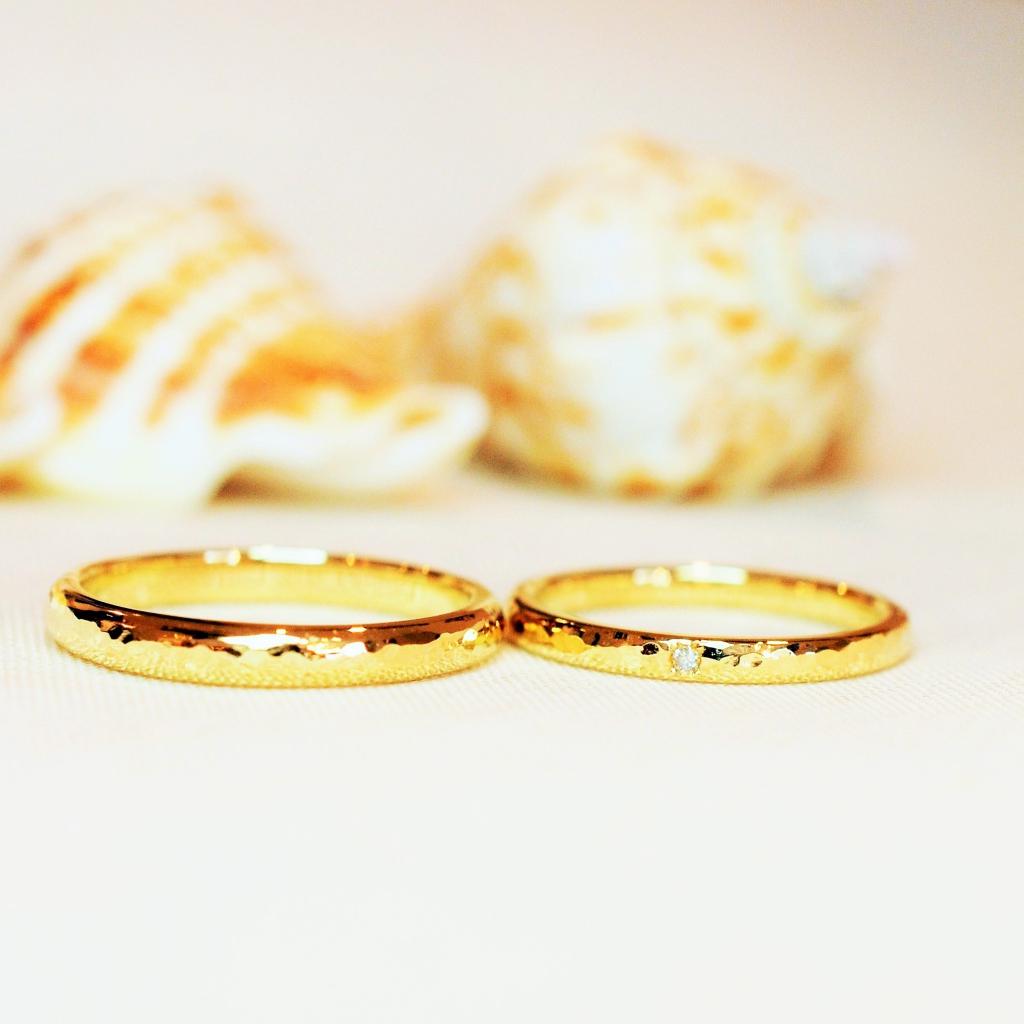 【手作り結婚指輪】寺久保様 栗林様
