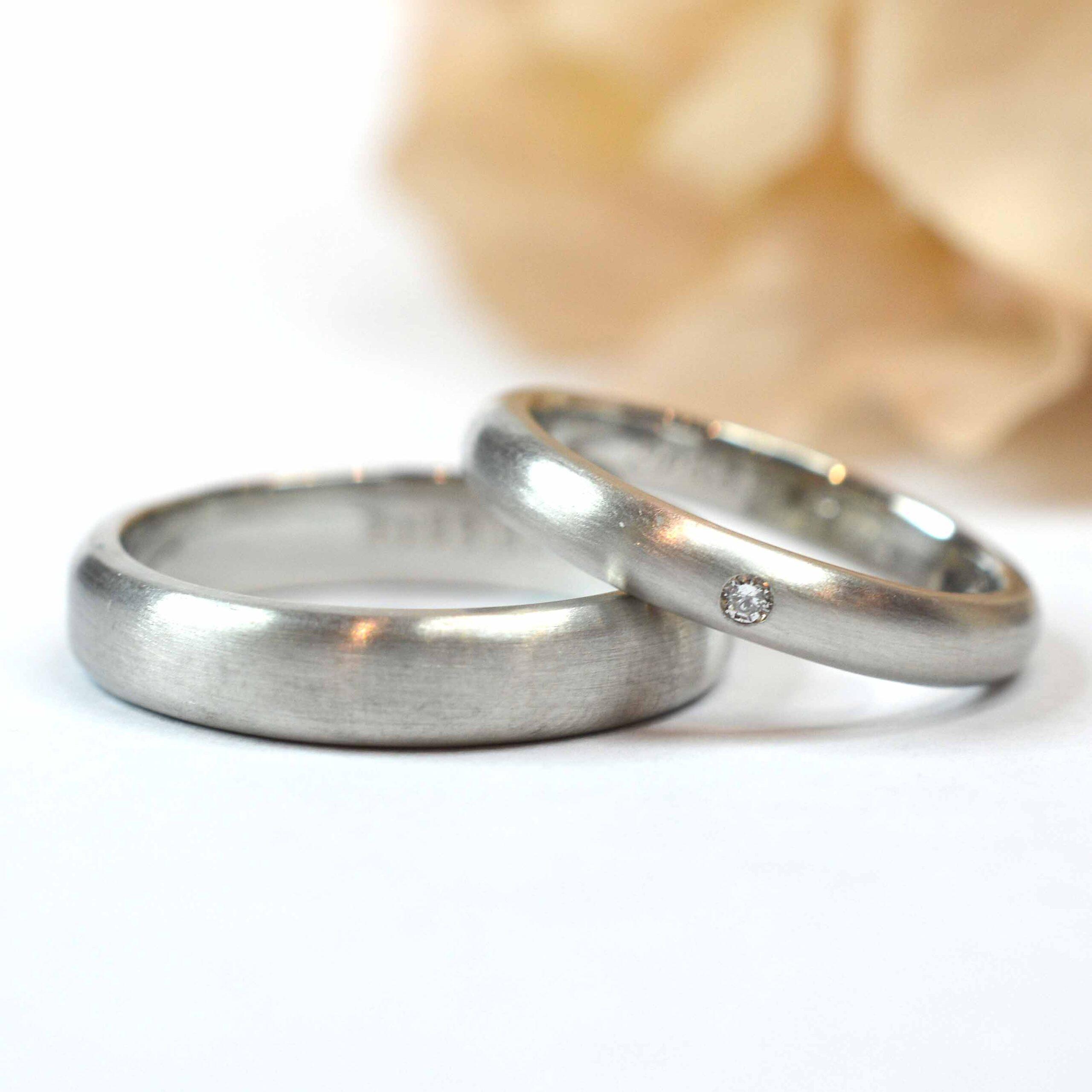 【手作り結婚指輪】 栗原様、吉野様