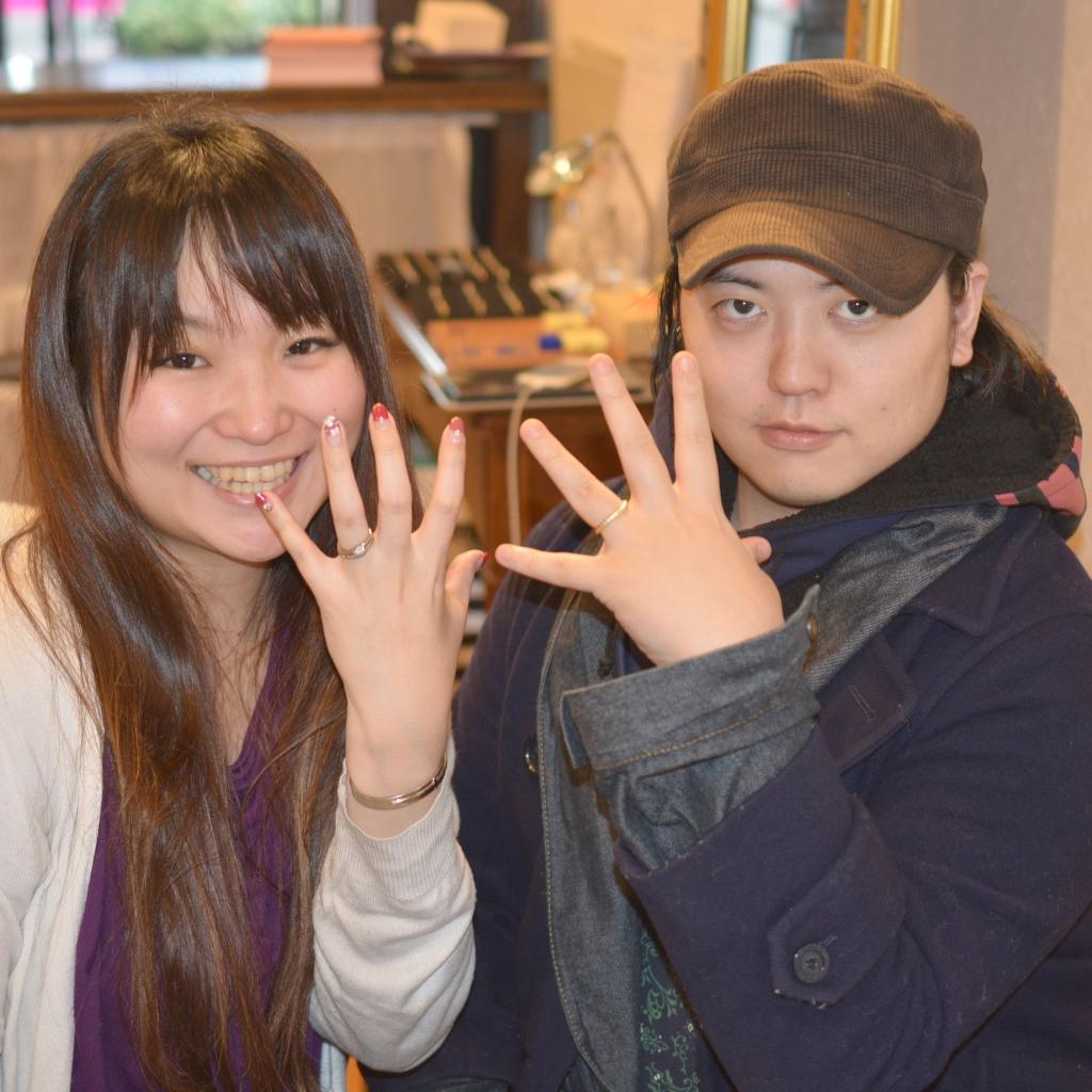 【手作り結婚指輪プレミアムコース】 浅田様
