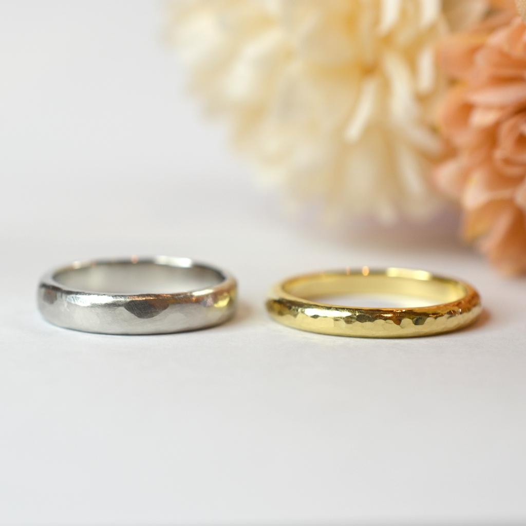 【手作り結婚指輪日帰りコース】 O様