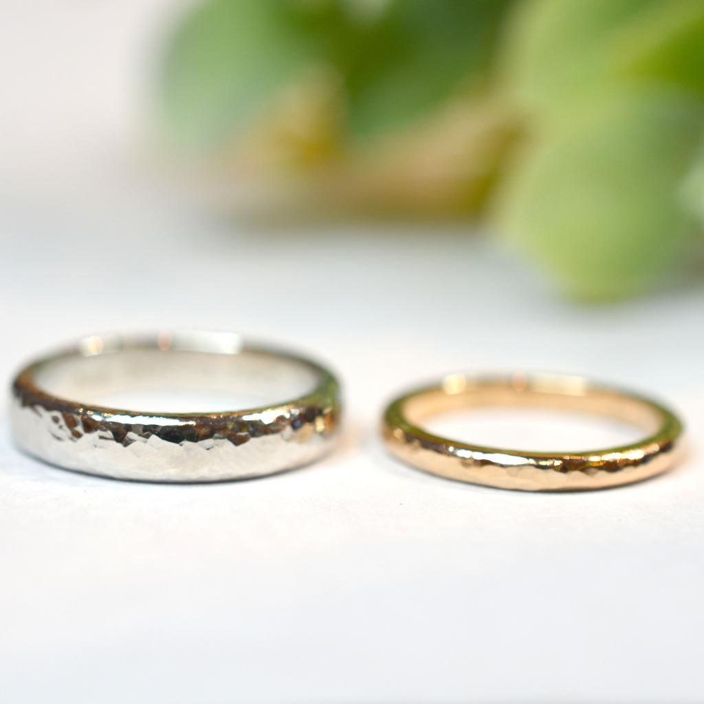 【手作り結婚指輪】日帰りコース 渡部様