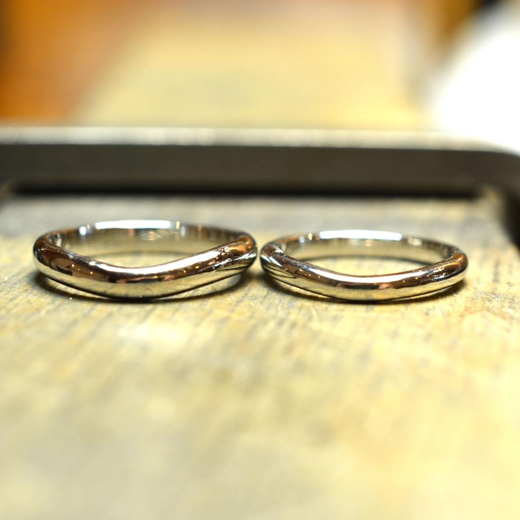 【手作り結婚指輪 プレミアムコース】鍬農様、大久保様