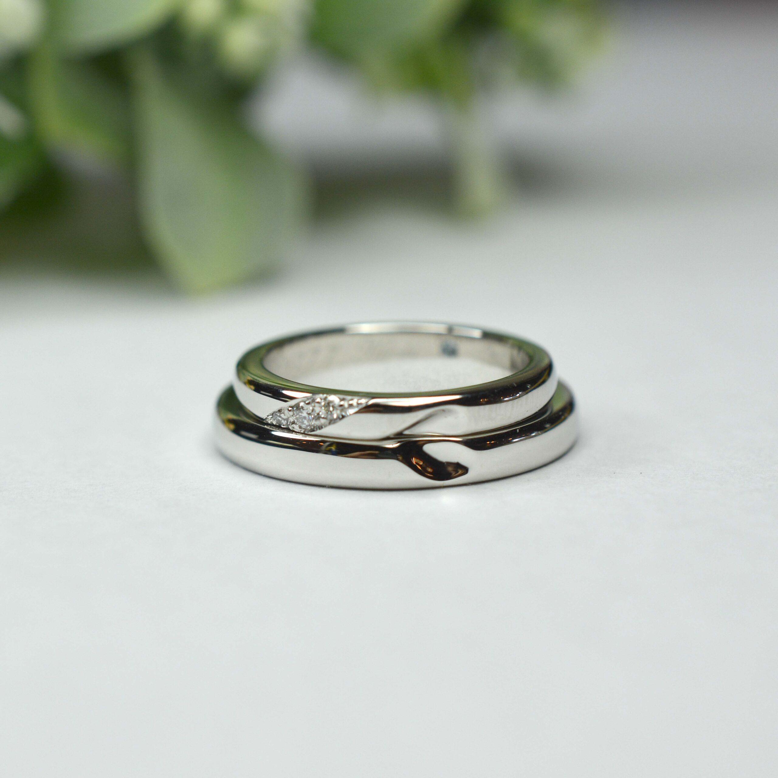 【手作り結婚指輪】石橋様