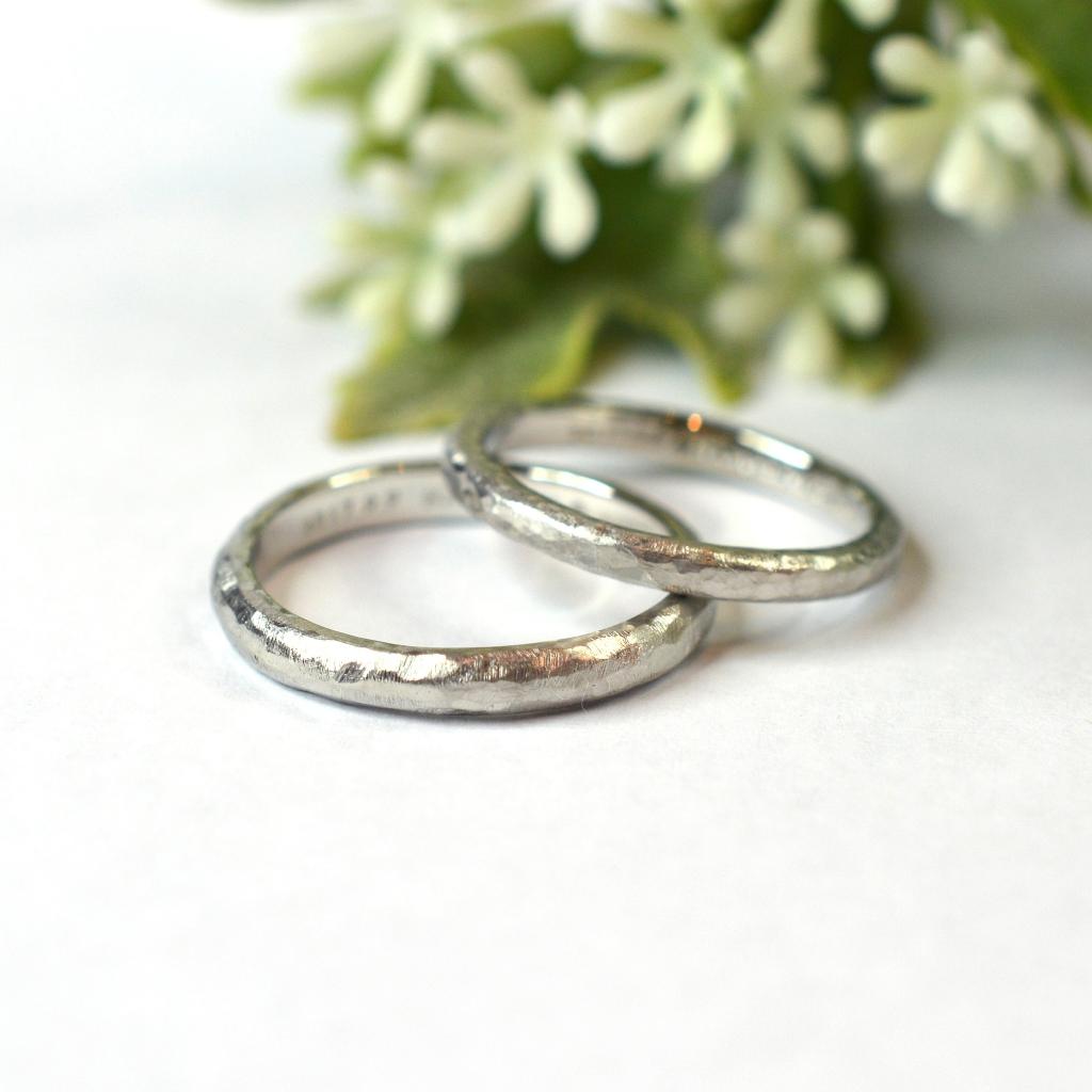 【手作り結婚指輪】日帰りコース 中田様
