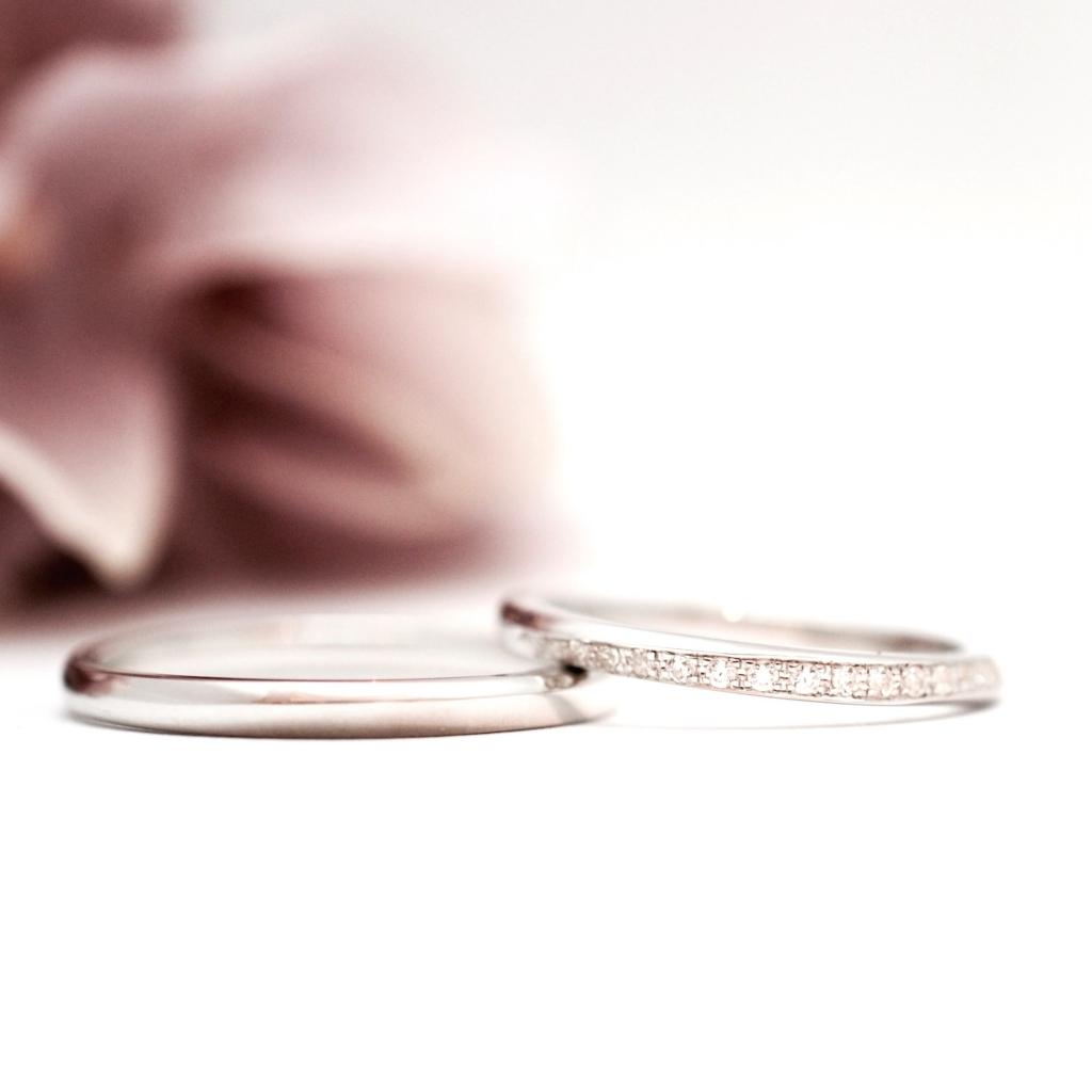【手作り結婚指輪】森下様カップル