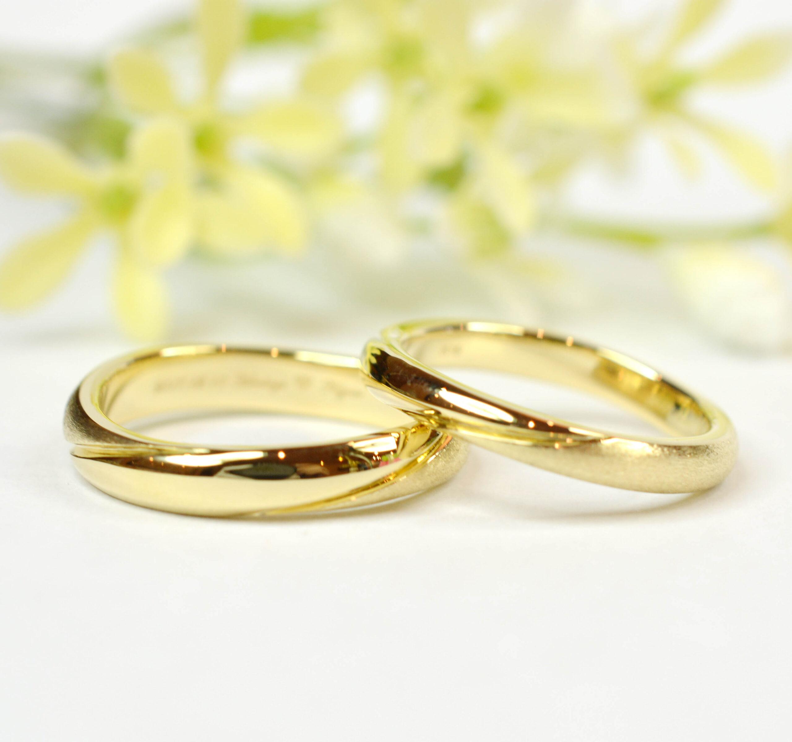 【手作り結婚指輪プレミアムコース】松野様、佐藤様