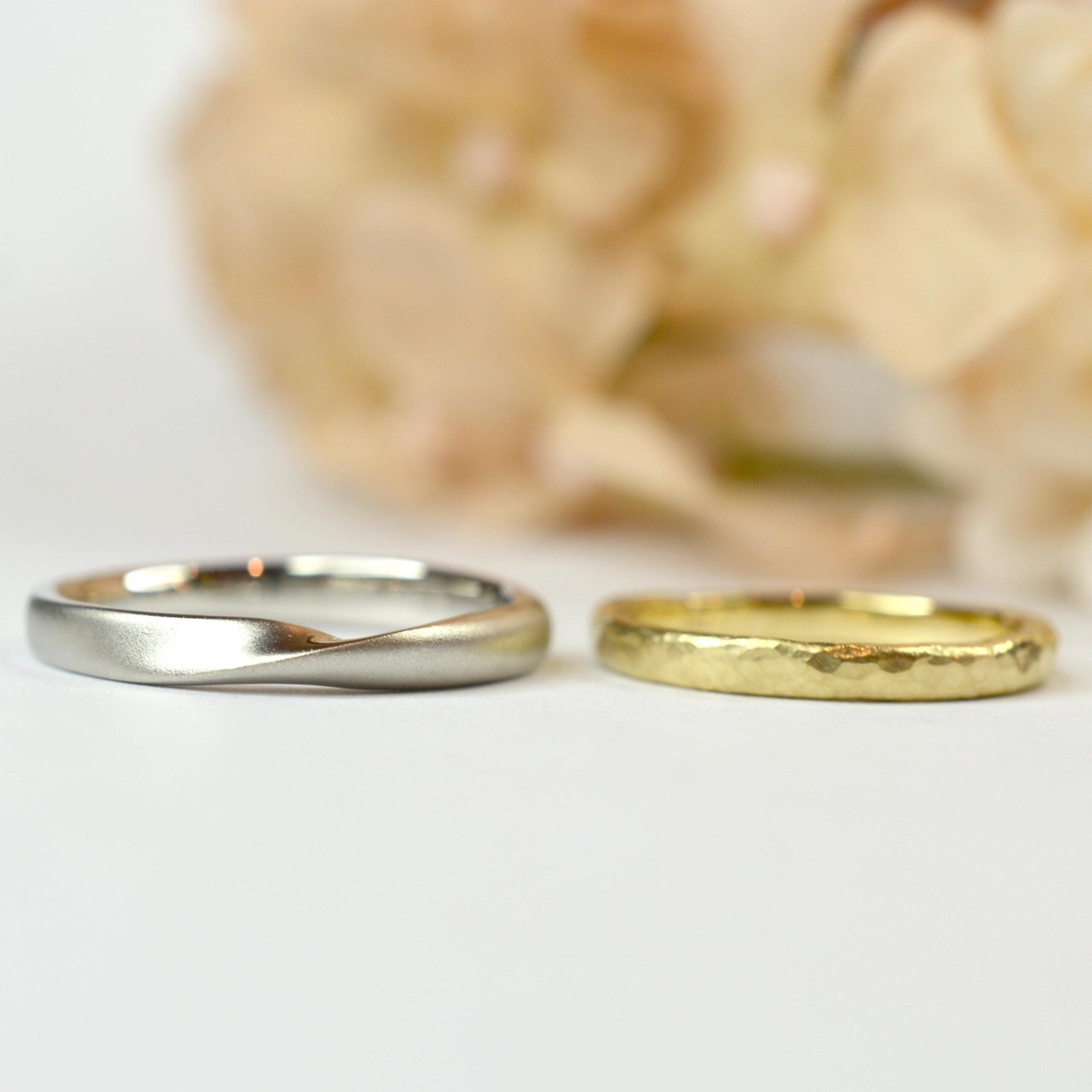 【日帰り手作り結婚指輪】中田哲生様 中田ゆうき様