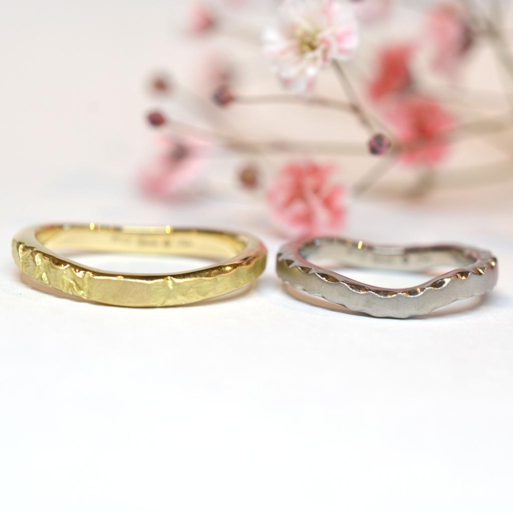 【手作り結婚指輪 プレミアムコース】鍬守様、桝谷様