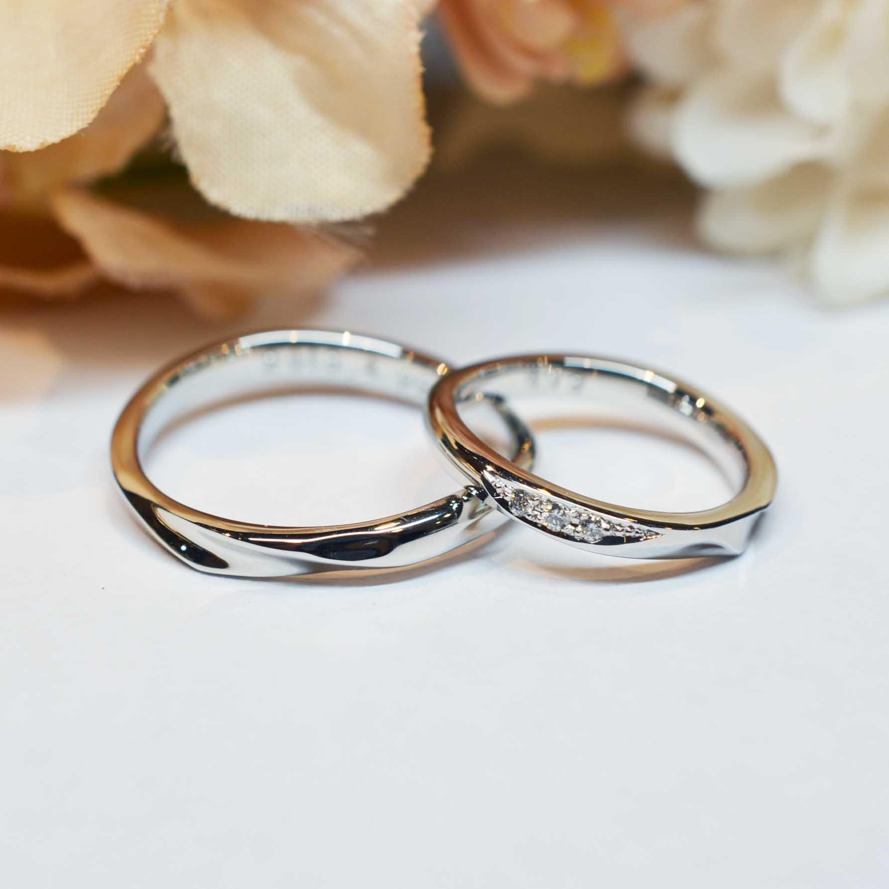 手作り結婚指輪《外苑前店》 菊川様