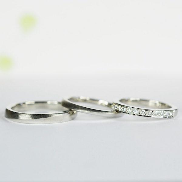 【手作り結婚指輪】 K様カップル