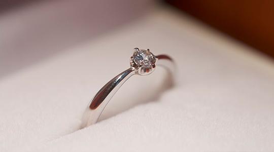 手作り婚約指輪プロポーズコースの写真