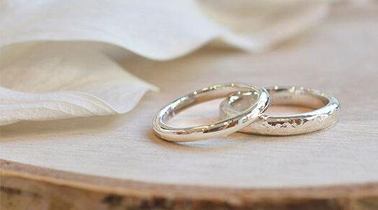 オーダー結婚指輪・婚約指輪コースの写真