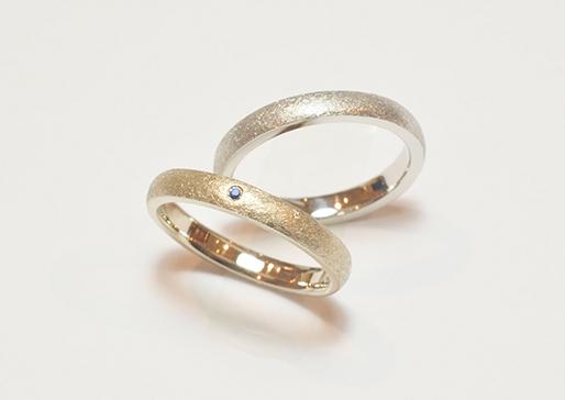 オーダーメイドの結婚指輪イメージ写真